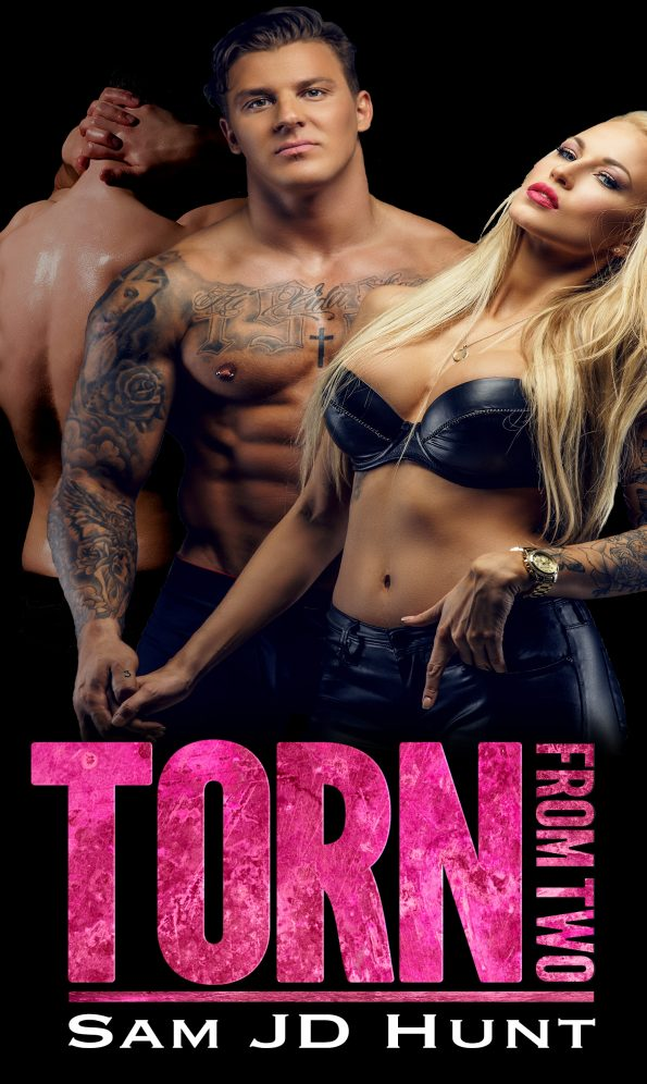 Torn cover ebook cover